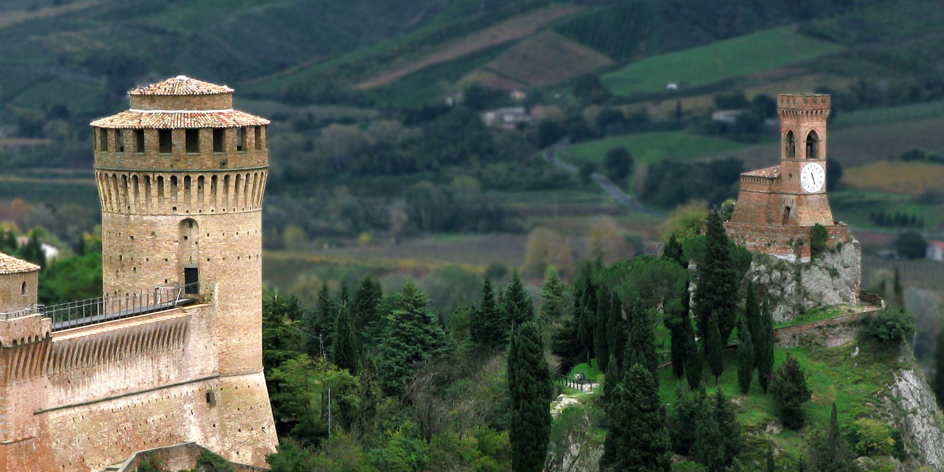 Brisighella Rocca+torre