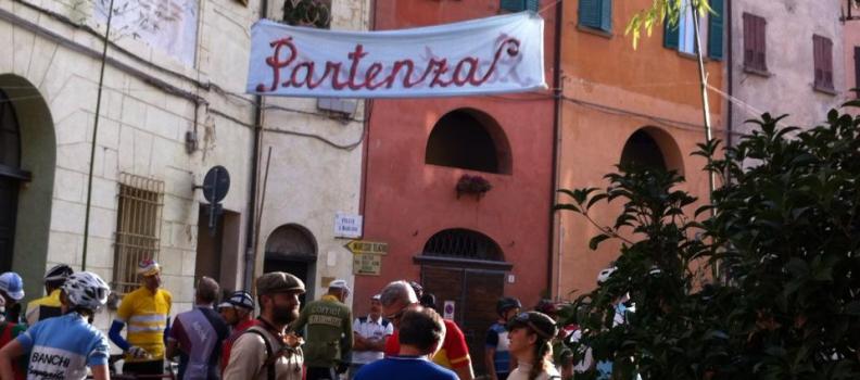 Cicloturistica d'epoca e trail fra i calanchi a Brisighella