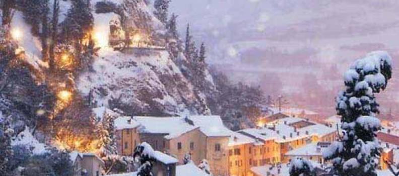 Brisighella tra i 40 paesaggi invernali più seggestivi al mondo